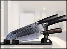 Kitchen Knife Set Damascus Japanese Stainless Steel 8'' Chef Knife Santoku Knife