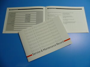 MINI-Service-Book-New-Unstamped-History-Maintenance-Record-Free-Postage