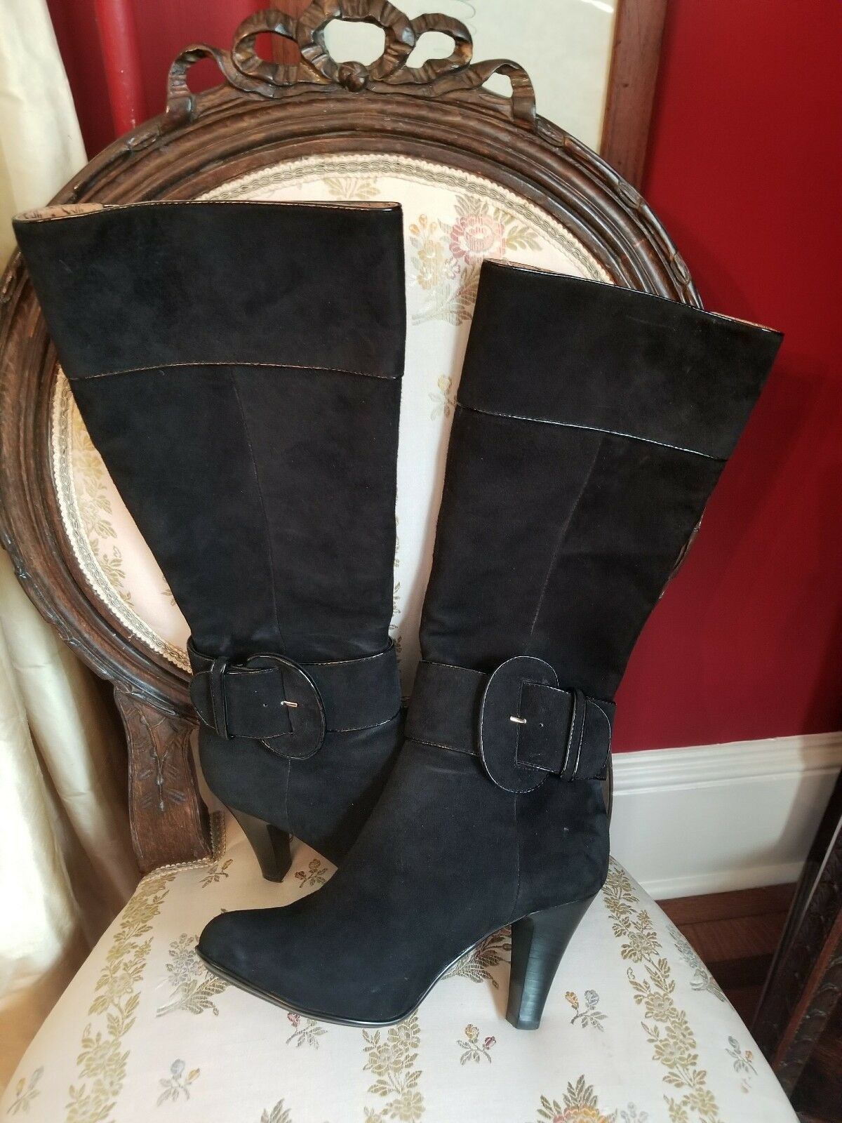 Men/Women sofft boots/black/suede/womens/6.5 Fine processing First batch of customers Different styles