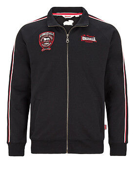 "LONSDALE Sweat-Jacket ""Sheperdswell"", Black (114693)"