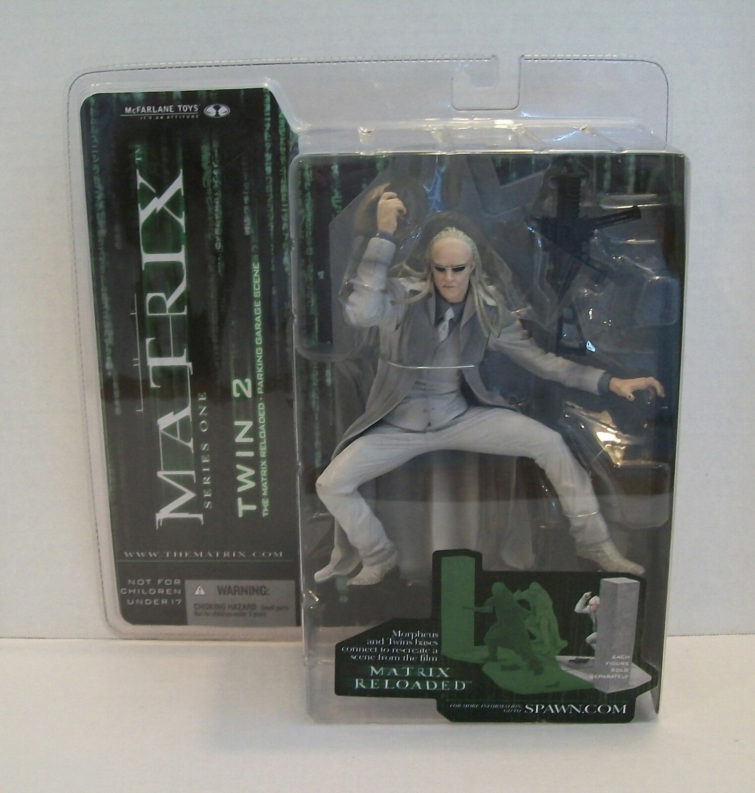 McFarlane  Matrix  Series 1  Twin 2 Action  Figure