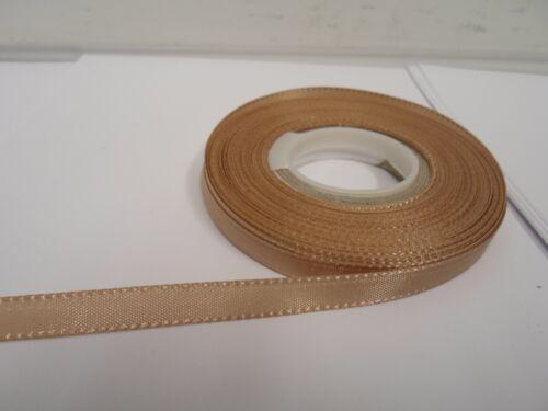 Full Roll or 2 metres Taffeta Ribbon 8mm 15mm 25mm 40mm Double sided UK VAT Reg