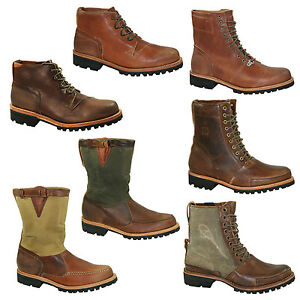 Details about Timberland Boat Company Tackhead Boots Ankle Boots Men's Shoes