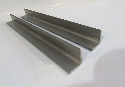 """3/"""" x 3/"""" x 3//16/"""" x 24 inches 304 Stainless Steel Angle"""