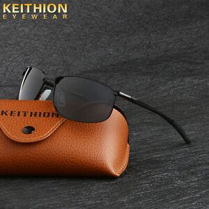 KEITHION-Polarized-Unisex-Sunglasses-Driving-Sports-Outdoor-Mirror-Glasses-UV400