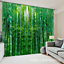 3D Bamboo 235 Blockout Photo Curtain Printing Curtains Drapes Fabric Window AU