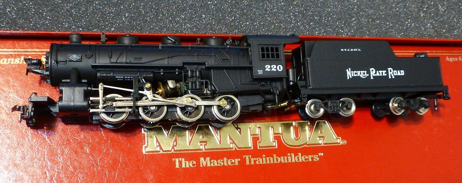 Mantua Ho  380-070 Nickel Plate Road (Run  248) 0-8-0 Switcher de Vapor (nuevo En Caja