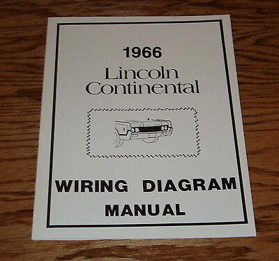 [SCHEMATICS_4FD]  1966 Lincoln Continental Wiring Diagram Manual 66 | eBay | 1966 Lincoln Continental Wiring |  | eBay