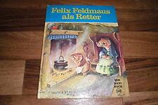 Racey Helps -- FELIX FELDMAUS als RETTER // Daxi-Bilderbuch # 36 v. Carlsen 1974