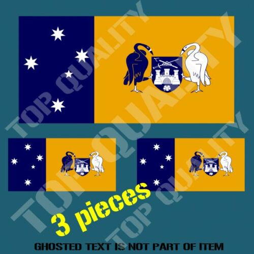 Canberra act flag decal sticker hard hat vehicle helmet stickers