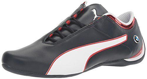 Bmw Ms Future Cat Mu Men S Shoes  Team Blue High Risk Red Puma White