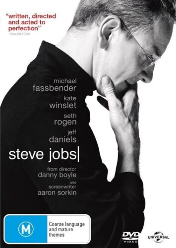 1 of 1 - Steve Jobs (DVD) - Michael Fassbender - Region 4 - Very Good Condition