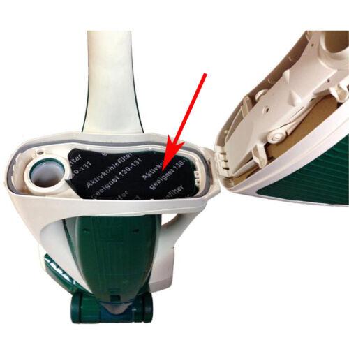 3 Stk Motorschutzfilter Kohlepad Filter passend für Vorwerk Kobold VK 130 VK 131