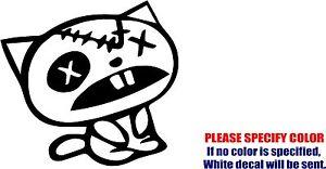 "JDM Cat illest Decal Sticker Auto Racing Funny Vinyl Car Window Bumper Truck 6"""