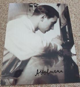 Albert Hofmann - Erfinder des LSD - Inventor of LSD - signed picture - rar