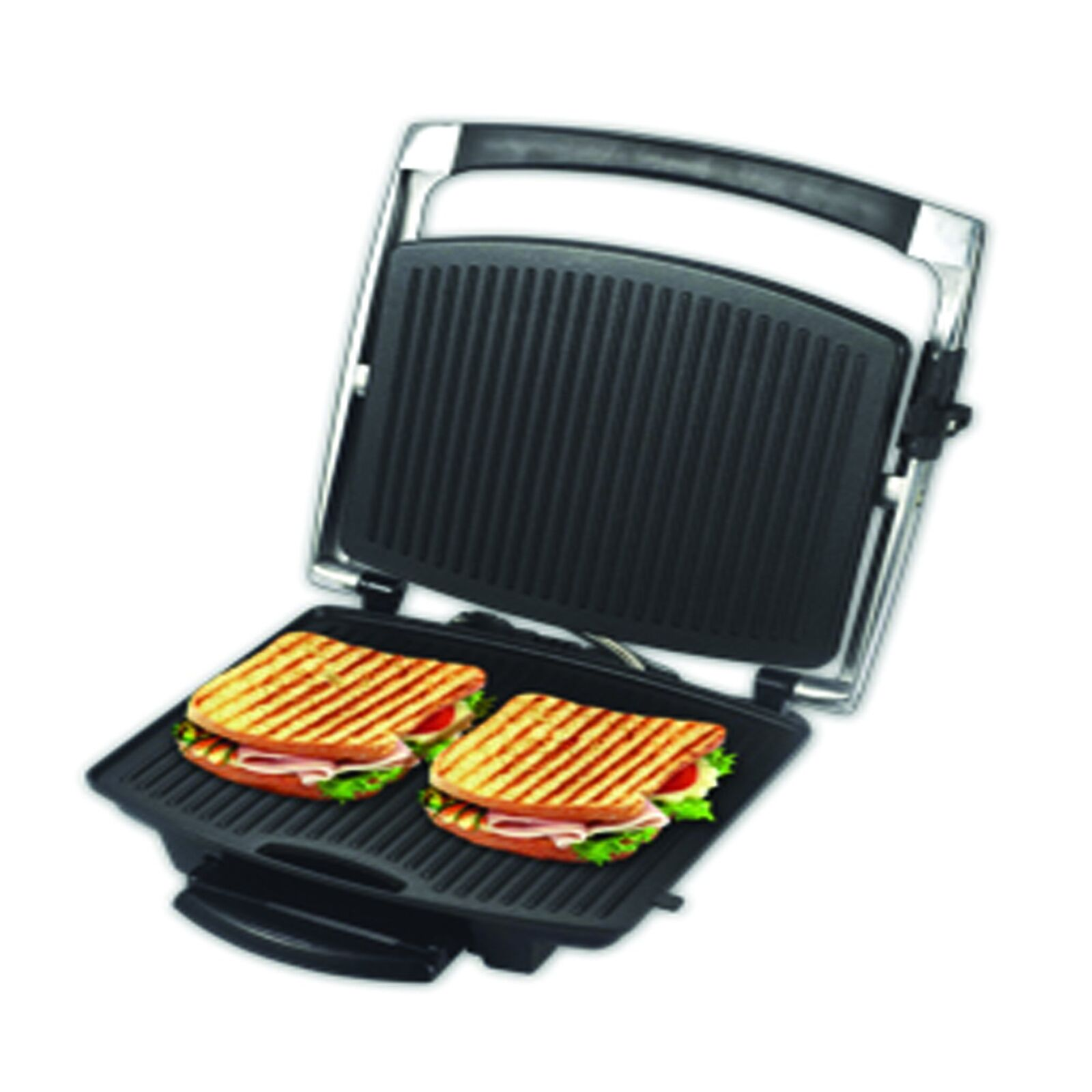 Alpina SF-6021 Panini Presse antiadhésif Gourmet 4 Sandwich Maker 220-240 V 50