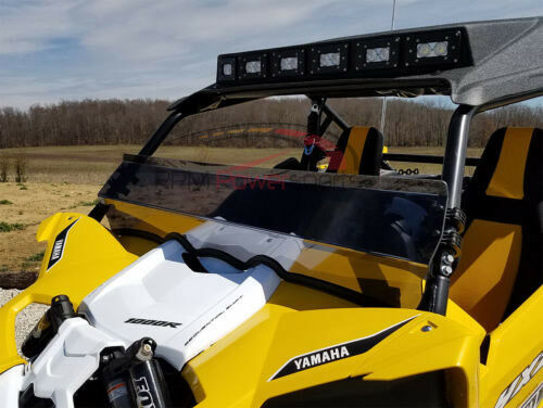 SPIKE Dark Tinted Half Windshield Yamaha YXZ 1000R 2016-17+