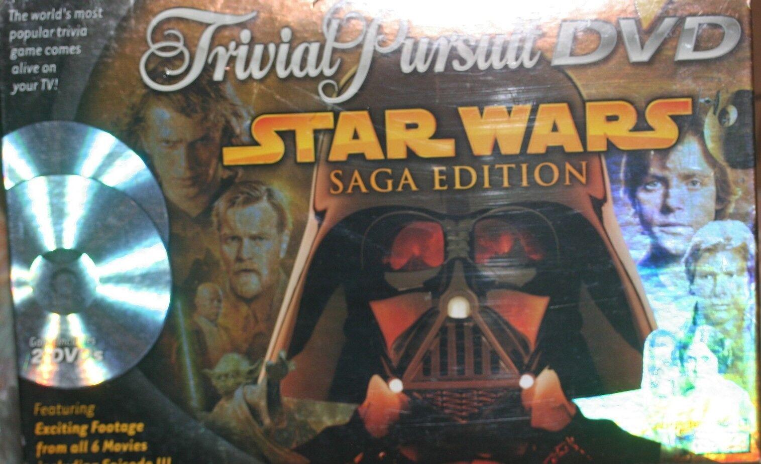 TRIVIAL PURSUIT STAR WARS SAGA EDITION NEW