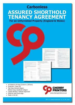 Assured Tenancy /& Shorthold Tenancy A5 Weekly//Monthly Tenants Rent Book 12page