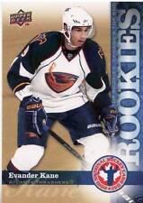 2009-10 Upper Deck Rookie Card RC Evander Kane Buffalo Sabres