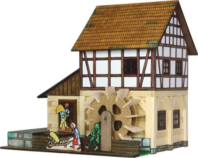Walachia - Holz Modellbausatz - Nr. 39 - Fachwerk Wassermühle - 1:32 - SPUR 1