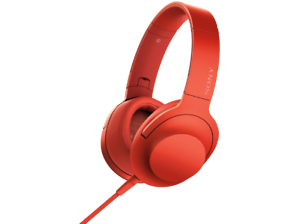 Auriculares-con-cable-Sony-MDR-100AAP-Vermellon