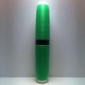 Candlepin-Bowling-Pin-Colored-Brand-New-Green-Candlepin-With-Black-Marker