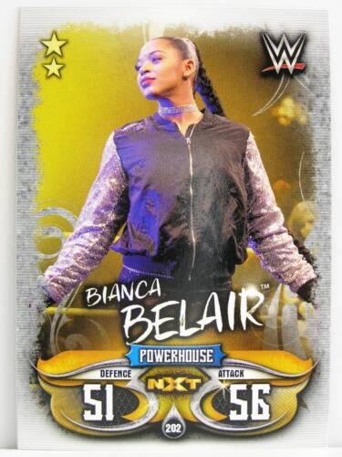 Slam Attax #202 Bianca Belair-Live 2018