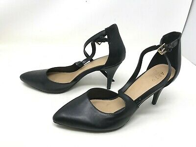 Apt.9 Women/'s Slip On Pointed Toe Stiletto Heels Black #160089 177S tk NEW