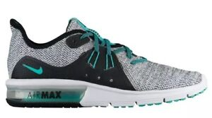 Details about NIKE Air Max Sequent 3 908993 100 WHITEHYPER JADE BLACK. Women's Size 10 NEW