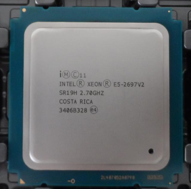 Intel Xeon E5-2697 V2 2.70GHz 12 Core 30MB L3 Cache 130W SR19H CPU Processor