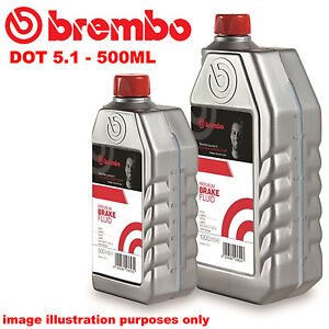 Dot 5 1 Brake Fluid >> Brembo Premium Fully Synthetic Performance Brake Fluid Dot 5 1 Dot5