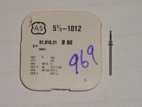 AS winding stem 1012 1677 1777 1977 1978   tige de remontoir Aufzugswelle 401