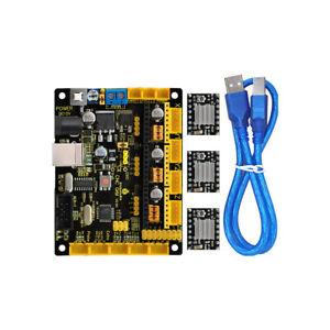 CNC Shield GRBL V0.9 Microcontroller +A4988 motortreiber Set für Arduino Laser