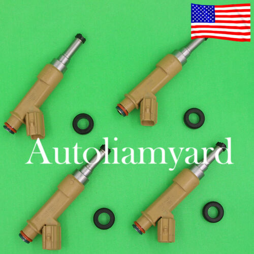 4pcs OEM Fuel Injector for Toyota Matrix Corolla Scion xD 1.8L 23250-0T020