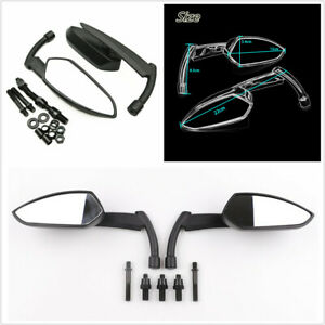 2pcs-CNC-Aluminum-Blade-Shape-Motorcycle-Rear-View-Side-Mirrors-8mm-10mm-Adapter