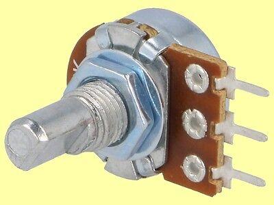 10 pcs Poti Potenziometer  Potentiometer  linear  mono  R16 1M  NEW  #WP