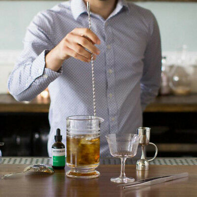 Stainless Steel Drink Cocktail Mixer Bar Stirring Spoon DIY Teadrop Accessories