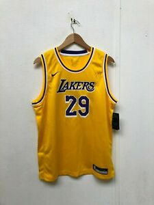 info for dee03 24a2c Details about Nike LA Lakers Kid's NBA Icon Jersey - 18-20 Years - Adrian  29 - Yellow - NWD