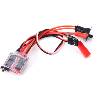 20A-Brushed-ESC-with-Reverse-amp-Optional-Brake-For-RC-Cars-Boats-Tanks-orangeRX