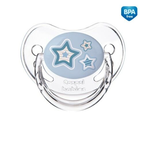 Baby Dummy Pacifier Soother teat  Colorful FREE BPA Silicone orthodontic shape