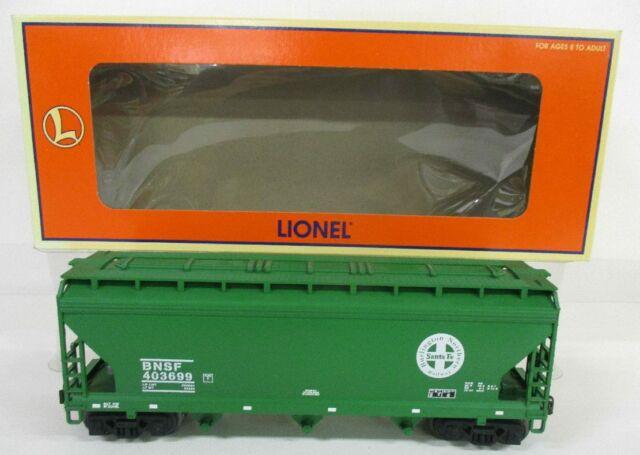 LIONEL 17135 BNSF ACF 3 BAY COV HOPPER 98