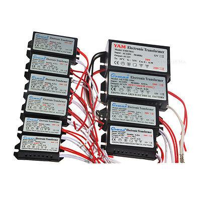 AC 220-240V-12V Electronic Transformer Halogen Light CE 40W 60W 80W 105W- 250W