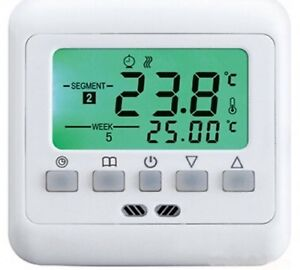 Digital thermostat programmable pour fussbodenheizung #741 							 							</span>
