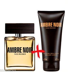 YVES ROCHER Ambre noir Eau de toilette & Perfumed Shower ...