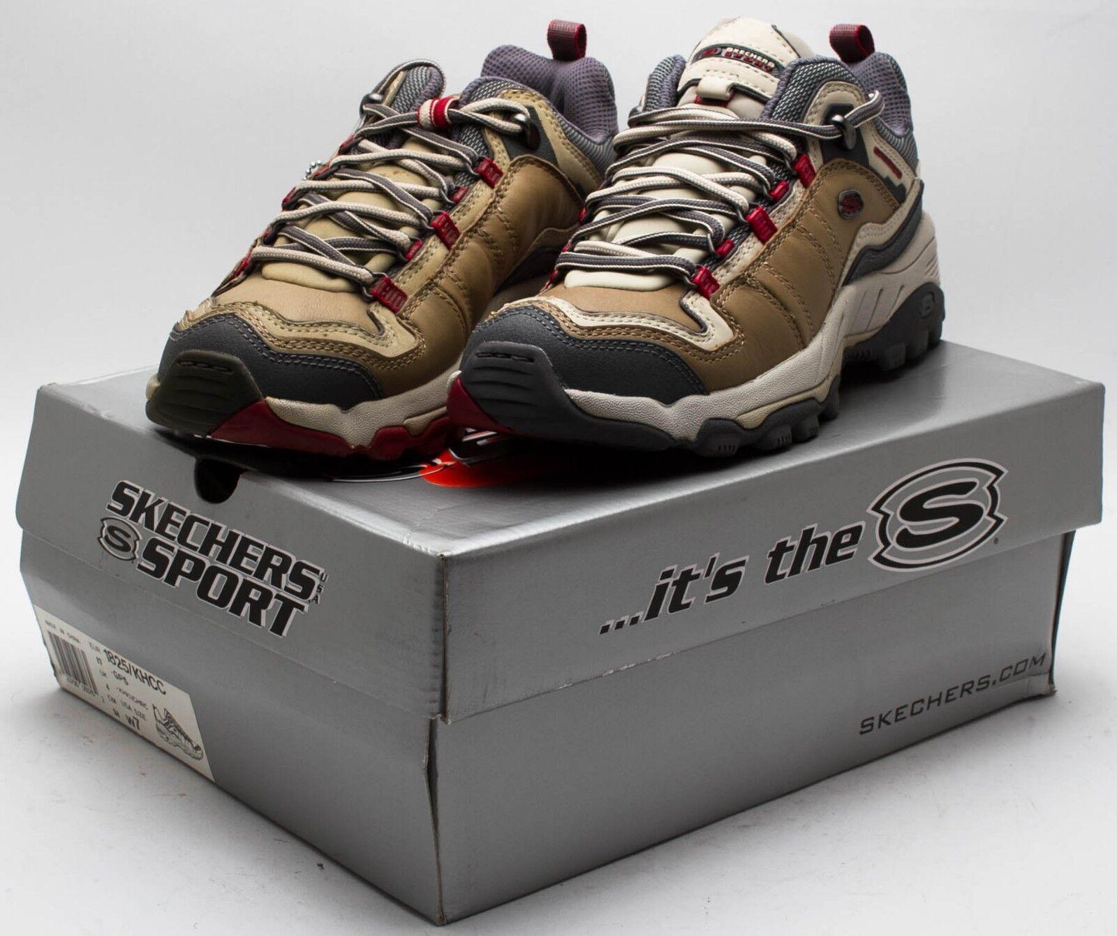 Skechers Women's Vintage 2002 Sport Trail Hiking shoes 1825 KHCC Tan Red sz. W9