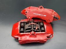 Porsche 996 Turbo / C4S Red Brembo Front Brake Calipers Brakes 996351429/430