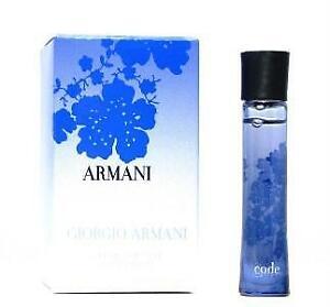WOMEN'S PERFUME GIORGIO ARMANI CODE Eau De Parfum 3mls BNIB Authentic Product