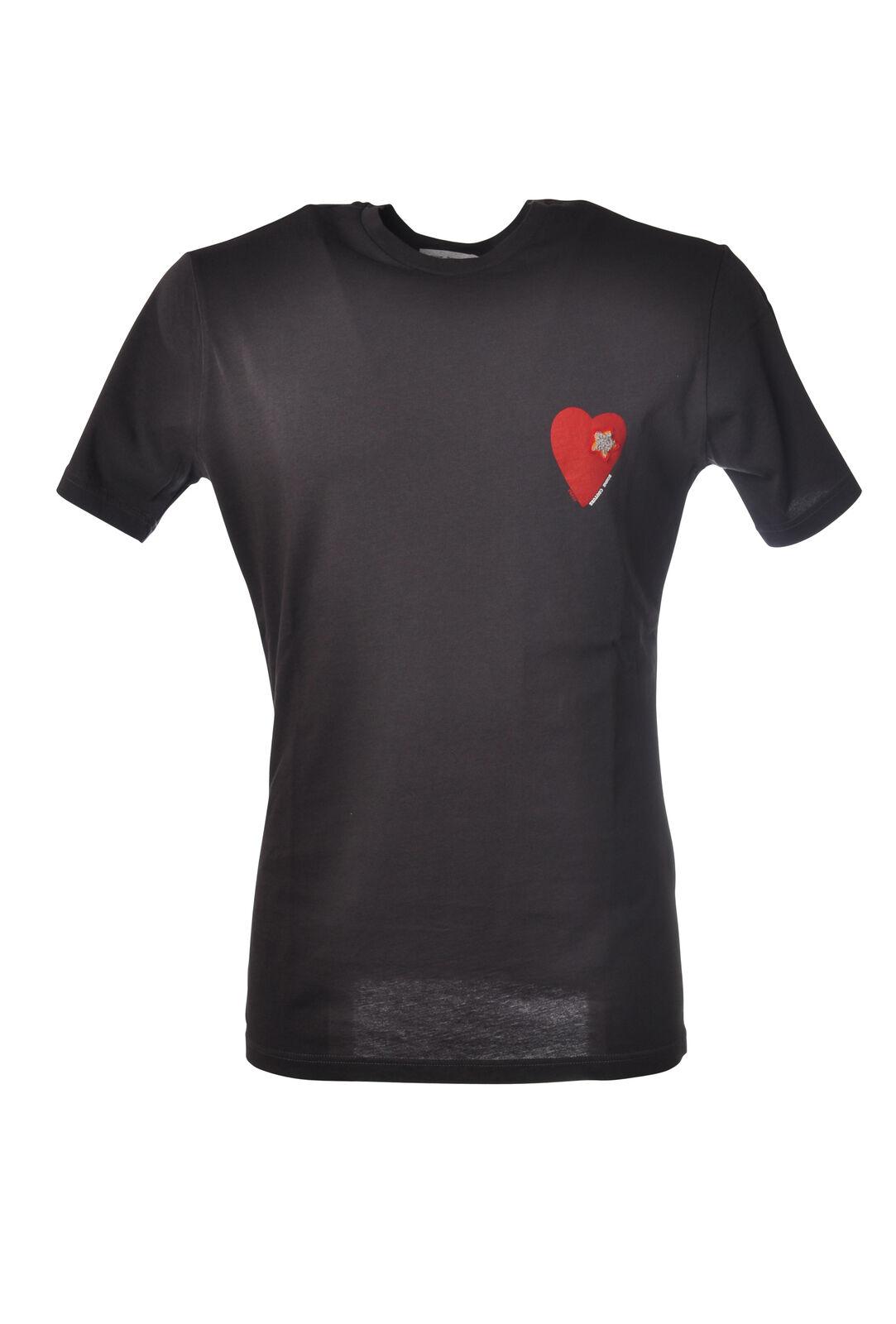 Daniele Alessandrini - Topwear-T-shirts - Mann - Grau - 5288428M185149