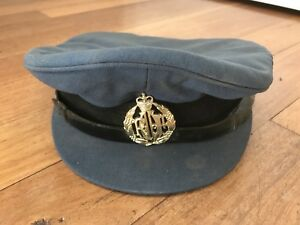 Vintage-Air-Force-Service-Hat-Prop-Costume-Collectable